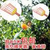 PE Met een laag bedekte Plukker van het Fruit van het Hulpmiddel van de Tuin van de Draad van het Staal Hand