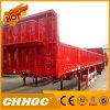 Cargo de Chhgc 3axle/semi-remolque de la cerca con el tipo plano