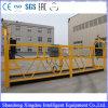 Plate-forme suspendue d'accès avec une capacité de charge de 100 kg à 8 m de hauteur