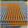Grating van de Spanwijdte van FRP Pultruded Decking Fabriek voor Bevloering