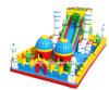 Campo de jogos colorido inflável da venda quente