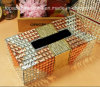 Nouveau cadre de tissu de ménage de cadre de tissu de voiture de Rhinestone de conception de Bling