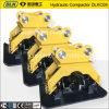 Compressor hidráulico da placa do Vibro da máquina escavadora Dlkc06