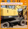 Excavatrice utilisée de roue de Hyundai R60W-9 pour la construction