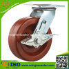 Hochtemperaturofen-Fußrollen-phenoplastisches Rad