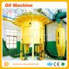 Petróleo de cacahuete que hace la máquina que cocina la extracción de petróleo y la máquina de la refinería