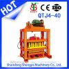 Machine de fabrication de brique concrète d'investissement inférieur du bloc de la cavité Qtj4-40 faisant à machine le bloc élevé de rendement usiner Chaud-Vendre la filiale du Nigéria