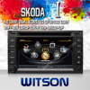 Witson DVD de voiture pour VW Passat (MK5) (2001-2005) / Jetta (1998-2005) Bora / Polo (MK3, 4) (2000-2009) / Golf (MK4) (1997-2003) / Citi Golf, Chico ( 2004-2009) W2-C016