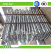 Hot Dipped Galvanized Screw Piles for Solar Ground Mounting System