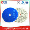 Diamond Wet Polishing Pad para Pedra, Mármore
