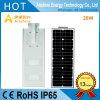 Garantía de 5 años Luz solar integrada de la calle de LED Lista de precios