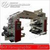 Flexografía de 4 colores LDPE película Letterpress impresión de maquinaria