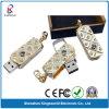 宝石類の旋回装置USBのフラッシュ・メモリの棒
