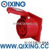 Cee/IEC 16A 4p 400Vの赤いパネルによって取付けられるソケット