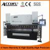 Freio hidráulico MB8-100tx3200 da imprensa do CNC da linha central de Accurl 6 com sistema culminante do CNC de Delem Da66t