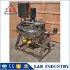 Elektrische het Verwarmen van het roestvrij staal Beklede Ketel met het Mengapparaat van de Schraper