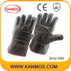 De donkere Handschoenen van het Werk van de Bedrijfsveiligheid van het Leer van de Zweep van het Meubilair (31012)