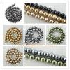 Гранено вокруг перлы отбортовывает ювелирные изделия, граненное ожерелье перлы раковины