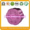 Contenitore cosmetico con la goffratura, contenitore di stagno dello stagno del regalo del metallo