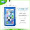 Sac imperméable à l'eau de caisse de téléphone du cas 2017 pour l'iPhone 7 plus pour la galaxie S7 S6 S5 S4 de Samsung