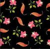 Tessuto 100% di cotone di stampa di Digitahi del fiore di qualità di Hight Zzc-003