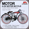Lowrider Spring Suspension Motorbicycle 48cc Motor Bike Motor Bicycle (MB-18-1)