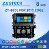 2013년 포드 가장자리를 위한 GPS를 가진 주춤함 차 오디오 라디오 입체 음향 (ZT-F805)