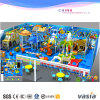 Campo de jogos da casa do jogo do centro do divertimento das crianças da série da selva