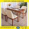 Vector y sillas comerciales de cena de los muebles de madera sólida