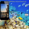 Wireless APP Waterproof Mini Fishing Camera com flutuador (10 metros de cabo, 8 luzes LED)