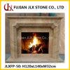 Cornija de lareira de mármore da chaminé de pedra do granito do Sandstone