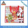 Sac non tissé respectueux de l'environnement de thème de Noël de sac à provisions