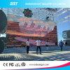 P8 640 x 640 mm 광고 옥외 임대료 발광 다이오드 표시 벽 Fanless 디자인