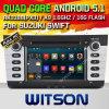 Auto DVD des Witson Android-5.1 für Suzuki schnelles 2011-2015 mit Vierradantriebwagen-Kern Rockchip 3188 1080P 16g des ROM-WiFi 3G Abbildung Internet-Schrifttyp-DVR (W2-F9653X)