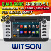 Androïde 5.1 Auto van Witson DVD voor Suzuki Swift 2011-2015 (W2-F9653X)