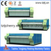 상업적인 Flatwork Ironer Manufactures (5 Rollers에 3000mm 다림질 폭) From Single Roller