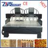Máquina de cinzeladura de madeira da máquina 3D do router do CNC
