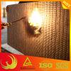 Placa à prova de fogo de lãs de rocha da isolação térmica de parede de cortina
