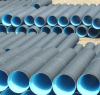 Línea acanalada de la protuberancia del tubo de la pared doble del PE