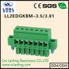 Pluggable разъем терминальных блоков Ll2edgkbm-3.5/3.81
