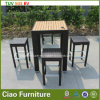 Plastic Wood를 가진 호텔 Outdoor Furniture Rattan Bar Stool Table