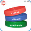 Size adulto Silicone Rubber Bracelet per Gifts
