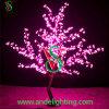 Luz ao ar livre da árvore da flor de cereja do diodo emissor de luz