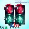 sinal do diodo emissor de luz da estática de 300mm/sinal de tráfego Pedestrian com lente do policarbonato