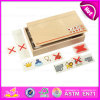 2015 Innovation tradizionale Wooden Domino Set Toy, Domino Set Toy con Wooden Box, Highquality Children Wooden Domino Set W15A057