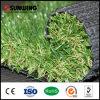 Alfombra falsa artificial verde natural de la hierba de las ventas calientes para el jardín