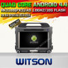 KIA Sportage 2010-2014년 (W2-A6743)를 위한 Witson Android 4.4 System Car DVD