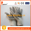 Ddsafety 2017 Knitted Black PVC Dots Both Sides Glove
