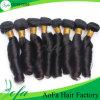 extensão brasileira do cabelo humano da onda da mola do cabelo não processado do Virgin 8agrade