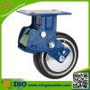 Schwarzes PU-Rad-Hochleistungsschlag-Absorptions-Fußrolle